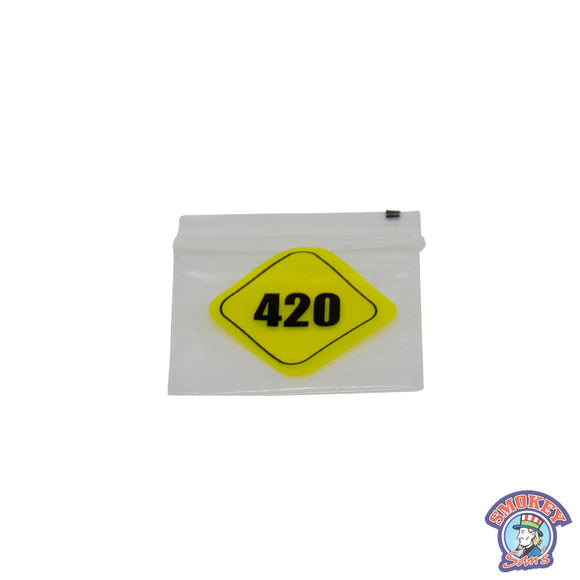 420 Clear Bag Small