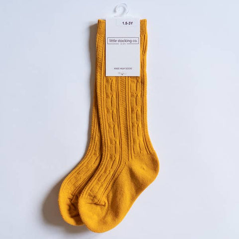 Marigold Knee High Socks