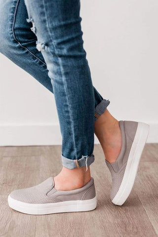 Soda Croft Sneakers in Clay Gray