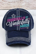 Christian Trucker Hat: Fearfully and Wonderfully Made