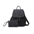 Bella Backpack Handbag in Black