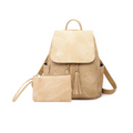 Bella Backpack Handbag in Champagne