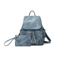 Bella Backpack Handbag in Blue