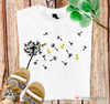 Childhood Cancer Awareness Hope Dandelion Graphic Tee
