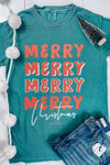 Merry Merry Christmas Graphic Tee