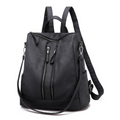 Samantha Backpack Handbag in Black