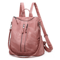 Samantha Backpack Handbag in Blush