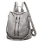 Samantha Backpack Handbag in Gray