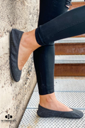 Storehouse Flats Dusk Raised Suede Ballet Flats