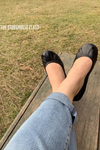 Licorice Black Ballet Flats