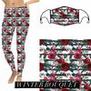 Winter Bouquet Christmas Leggings