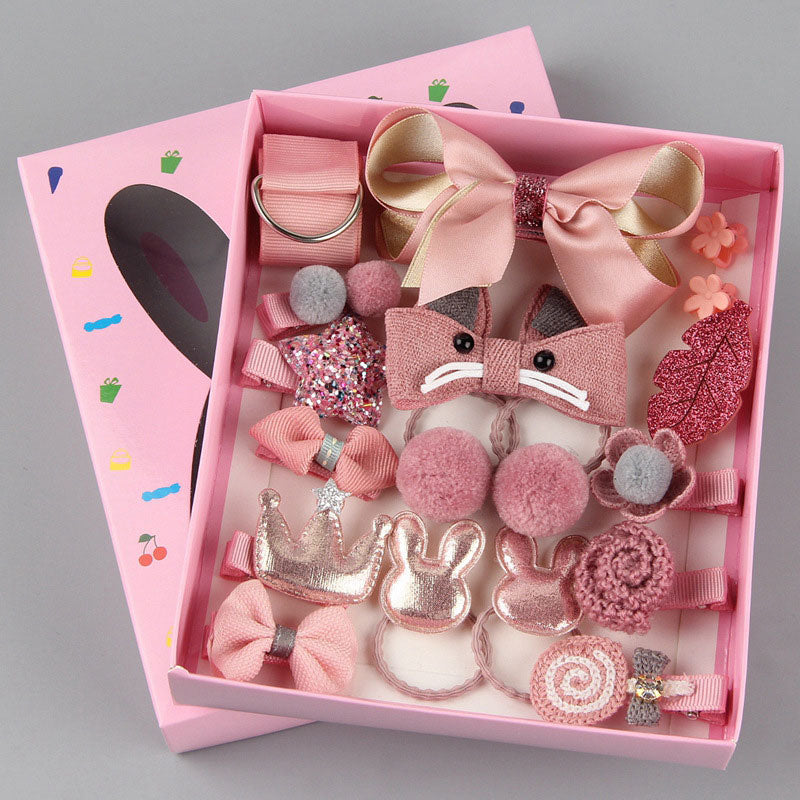 Princess Girls Headwear Set (18pcs/set)