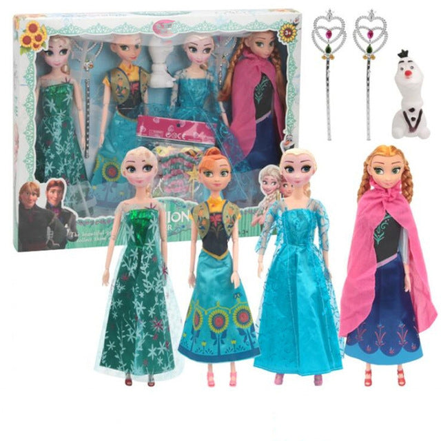 Princess Anna & Elsa Dolls
