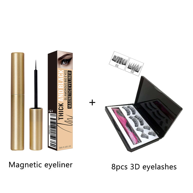 Magnetic 3D Eyeliner Eyelashes Kit