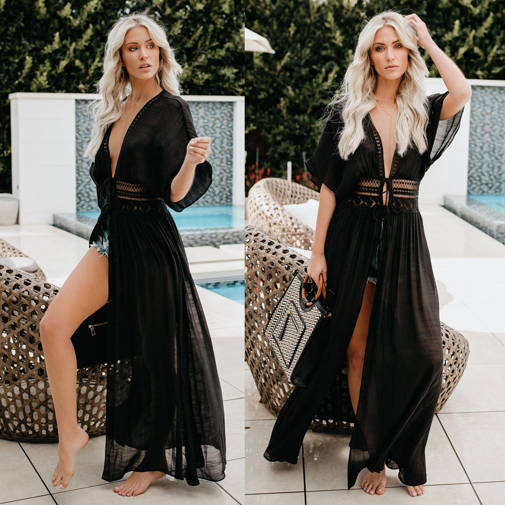 Sexy Beach Dress Swimwear Beach Cover Up (Includes Plus Sizes)