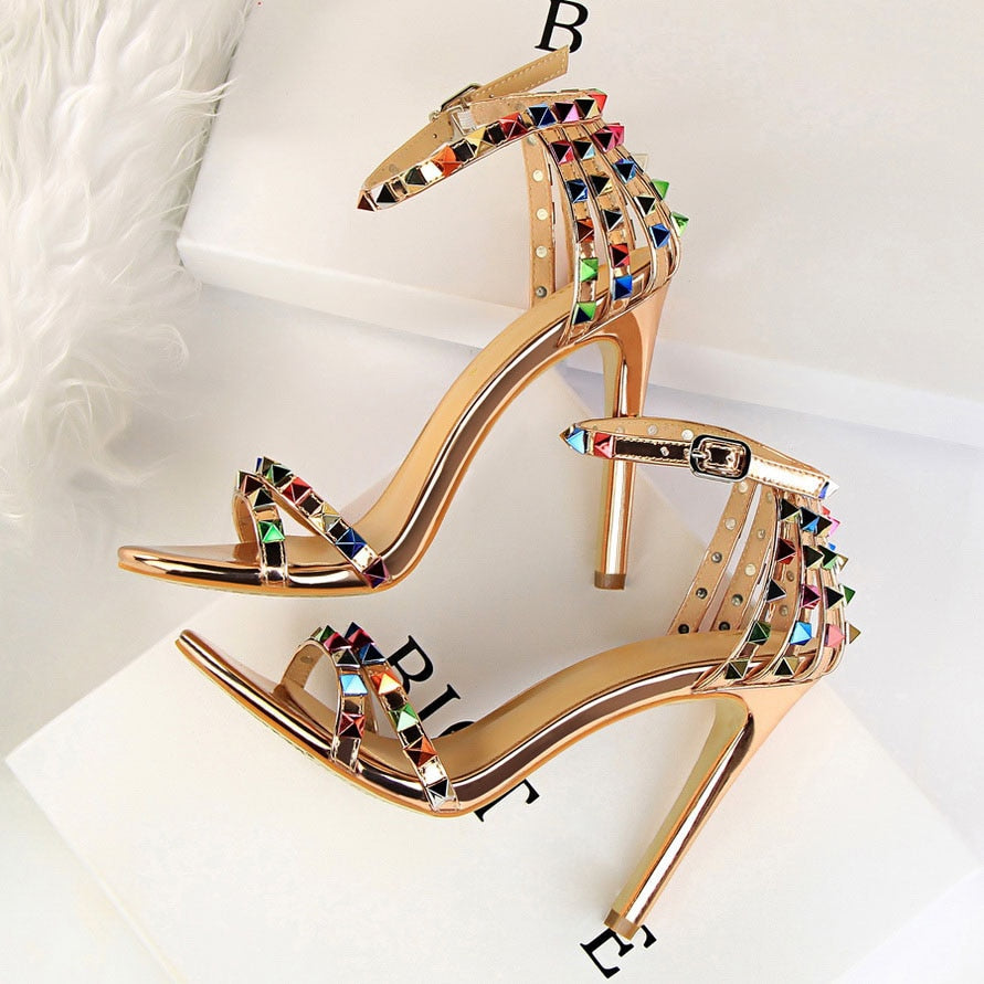 Stiletto Gladiator Pumps