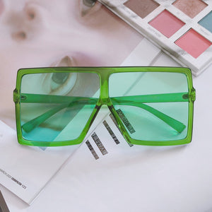 Vintage Big Square Oversized Sunglasses