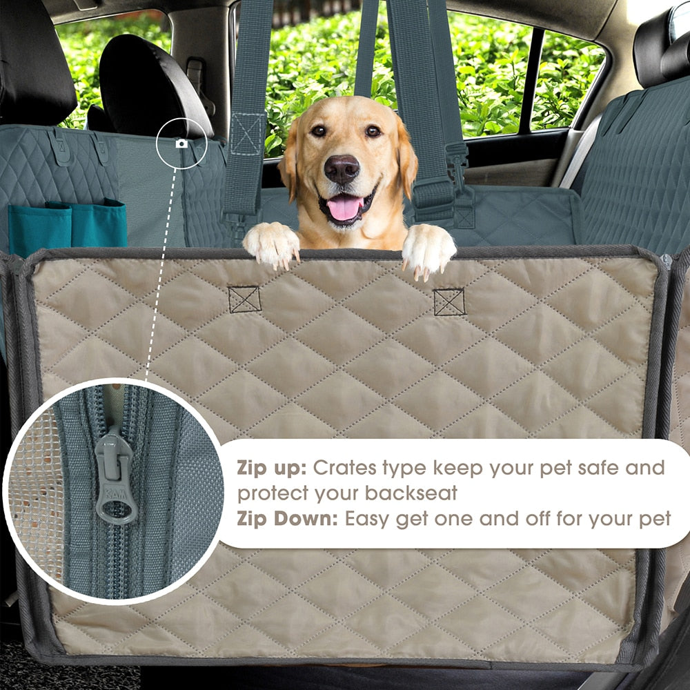 Amazing Dog Car Seat Cover (Waterproof)For Small/Large Dogs