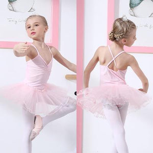 Cute Girls Ballet Dress
