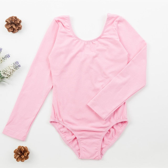 Girls Ballet Leotard Long Sleeve | Lovely Dance Wear