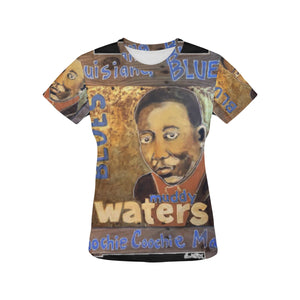 Muddy Waters All Over Print T-shirt