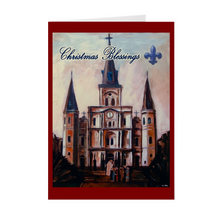 Load image into Gallery viewer, Christmas Blessings, St. Louis Cathedral