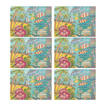 Load image into Gallery viewer, Shell In Your Pocket Placemats (Set of 6)