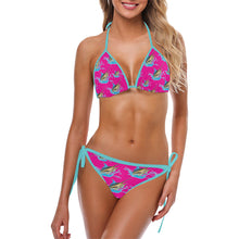 Load image into Gallery viewer, Blue Marlin String Bikini