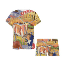 Load image into Gallery viewer, Texas Ladies Short PJ's