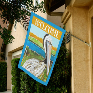 Pelican Welcome Flag
