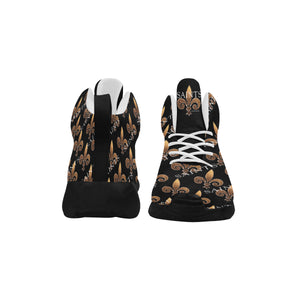 Fleur De Lis Men's Basketball Shoe Black
