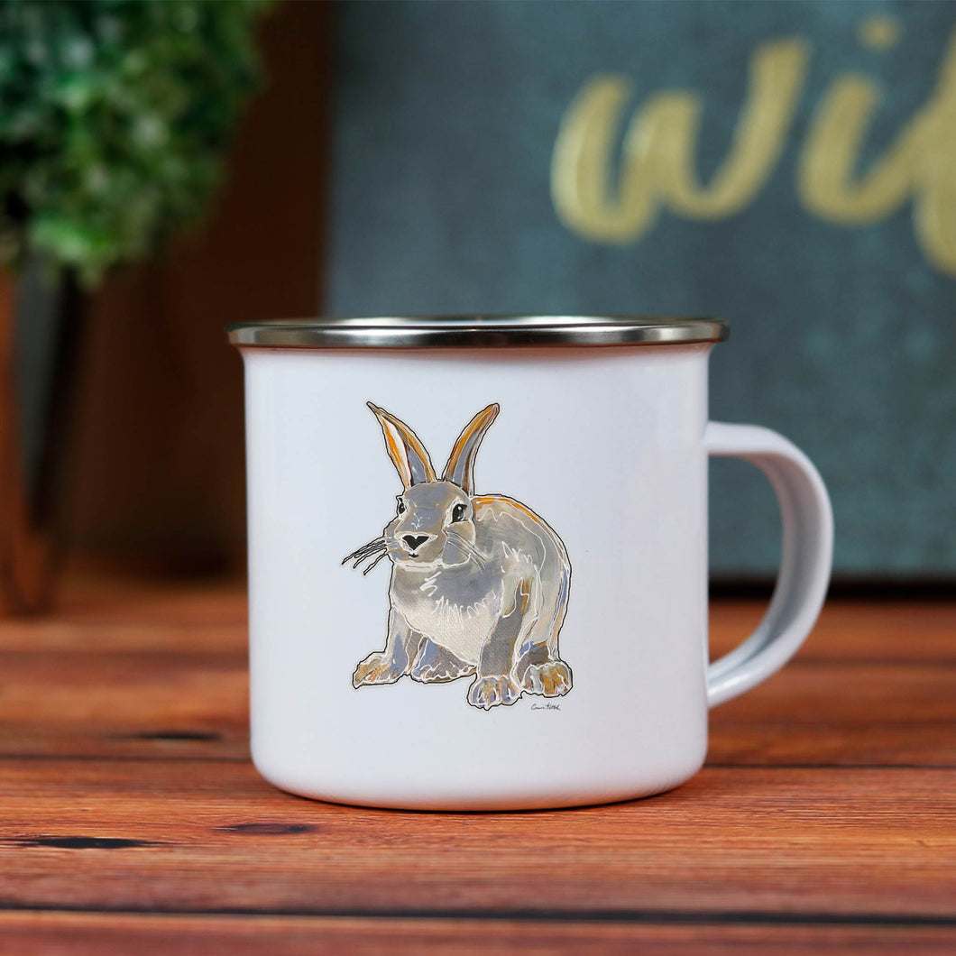 Rabbit Camp Mug 10oz metal cup