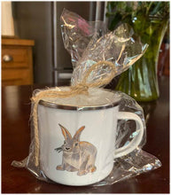 Load image into Gallery viewer, Rabbit Camp Mug 10oz metal cup