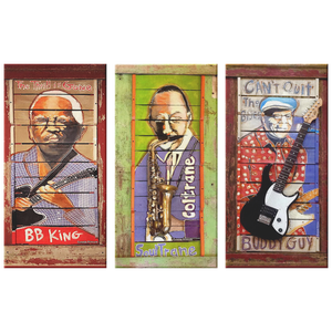 BB King, Coltrane, Buddy Guy