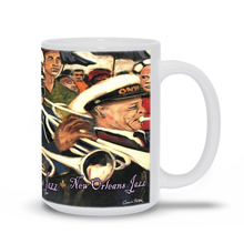 Load image into Gallery viewer, New Orleans Jazz Coffee Mug
