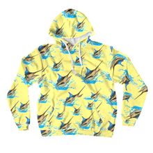 Load image into Gallery viewer, Blue Marlin All-Over Print Pullover Hoodies