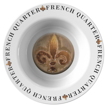Load image into Gallery viewer, Fleur De Lis French Quarter Gumbo Bowl