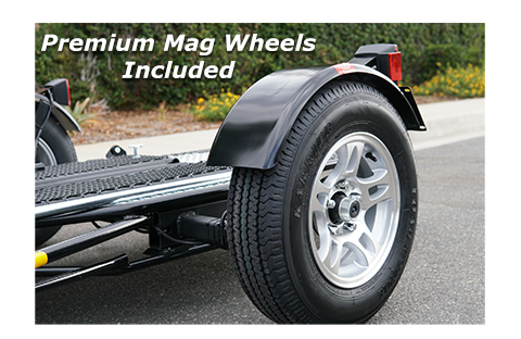Unlike kendon trailers and droptail trailer we offer our units with Mag wheels