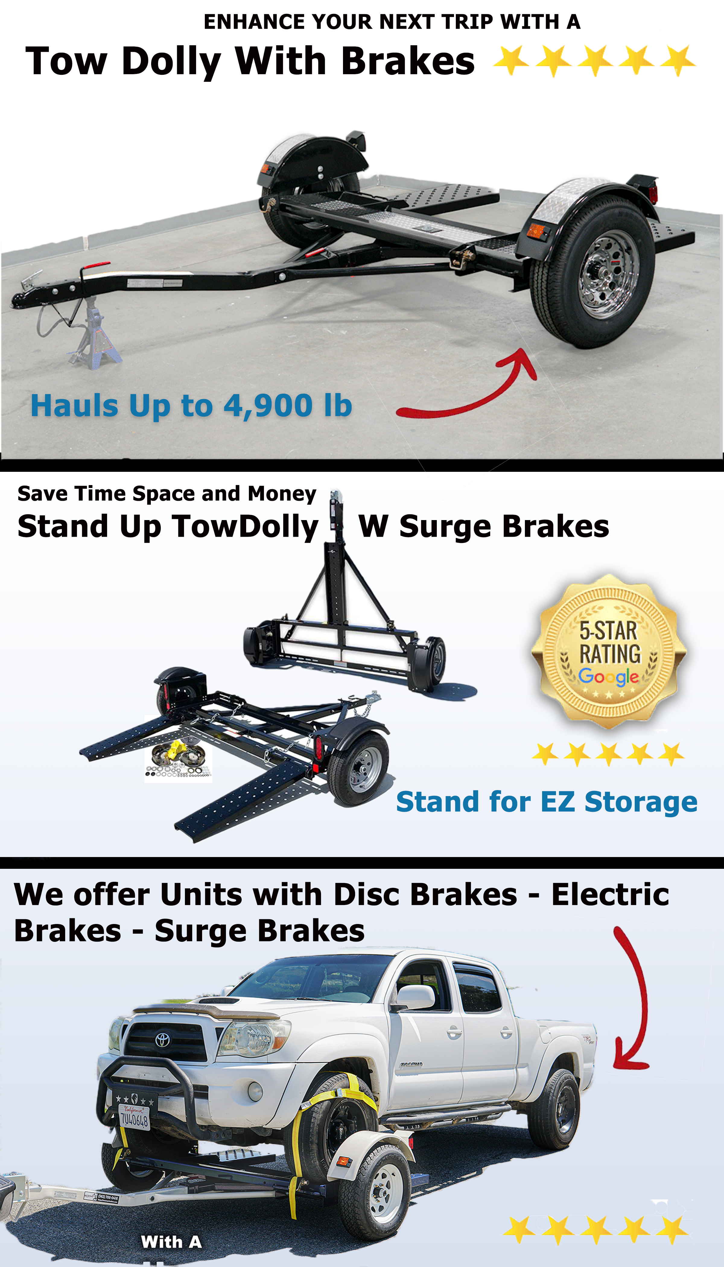car tow dolly with brakes dolly with brakes cartowdolly.com stand up tow dolly master tow dolly