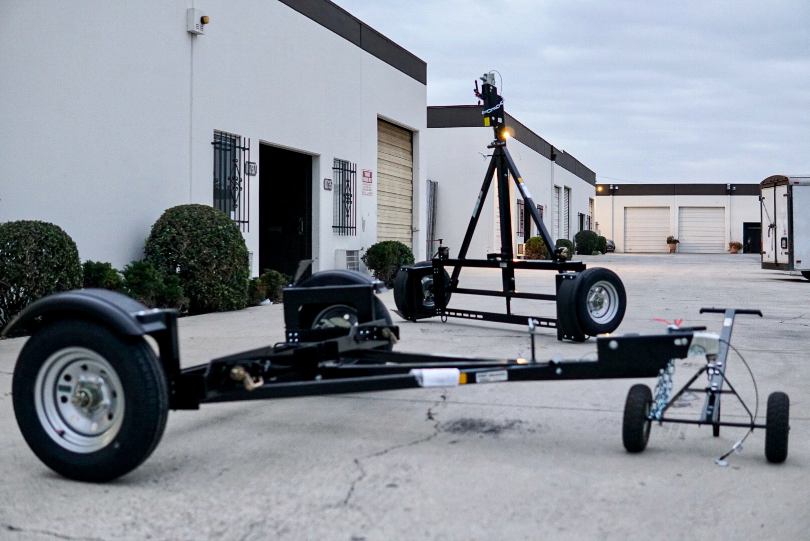 car tow dolly stands for storage, Tow smart trailers car dolly for sale to the public, Powder coated original standup tow dolly