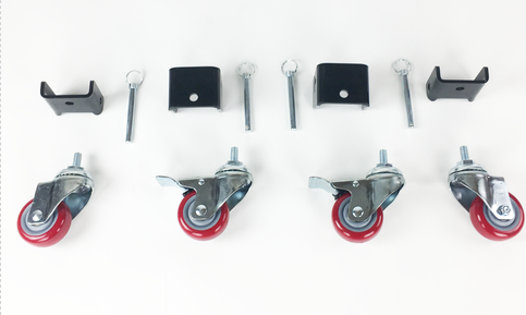 Caster wheels Patent pending casters for standing dolly
