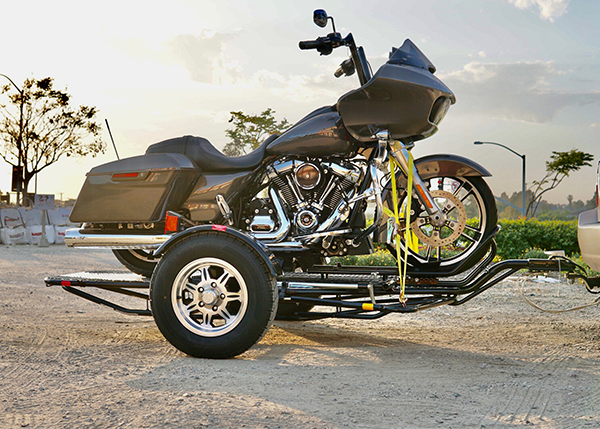 Fold up motorcycle trailer- stand out from the competition with Foldable motorcycle trailer not a kendon trailer