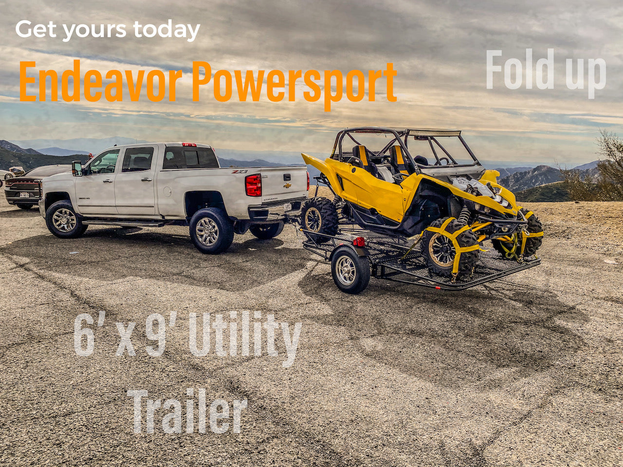 UDATE A UTILITY TRAILER FOR ALL PURPOSE POWERSPORTS NOT A KENDON TRAILER folding utility trailer - stand up utility trailer - Smart Car trailer - stand up atv  trailer