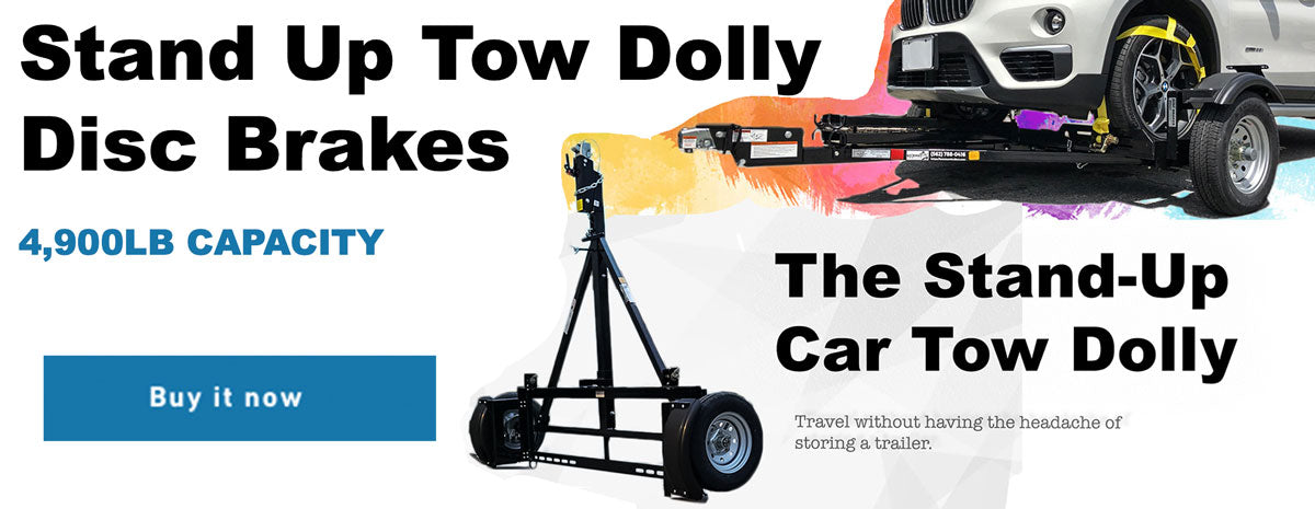 Stand UP Car tow dolly