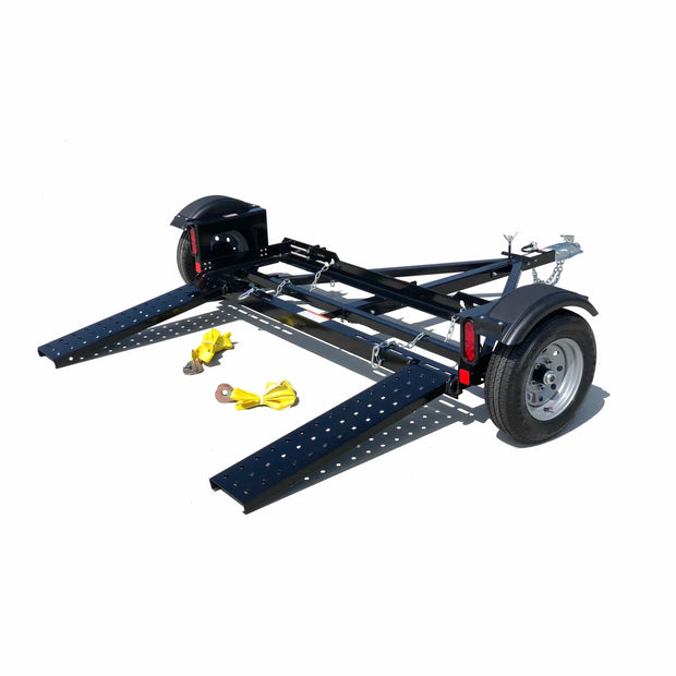 Stand Up Car Tow Dolly - First and Original Stand up tow dolly Powder coated not cheaply Galvanized