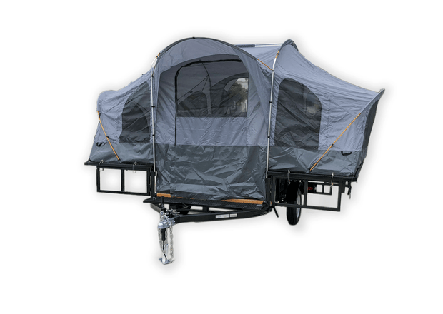 Camping Utility Trailer, Camping Trailer Pop up tent trailer , Folds