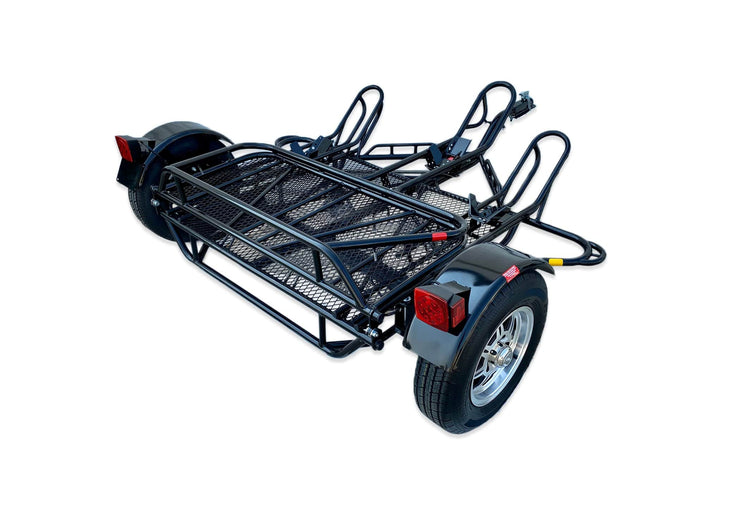 Trailer for cargo, Take your Motorcycles everywhere anytime. Dirt bike Sport Bike trailer folding Stand out