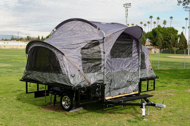 camping tent trailer pop up tent trailer 5 x 7 utility trailer similar to jumping jack trailer