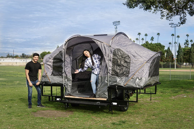 Utility camping tent trailer, Hunting trailer , Jeep offroad trailer, camp off the ground. The trailer of a lifetime