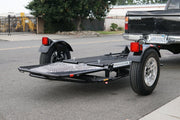 Stand Up Motorcycle Trailer - Ride up trailer